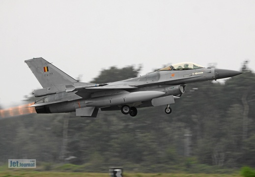 FA-77, F-16AM Belgian Air Force