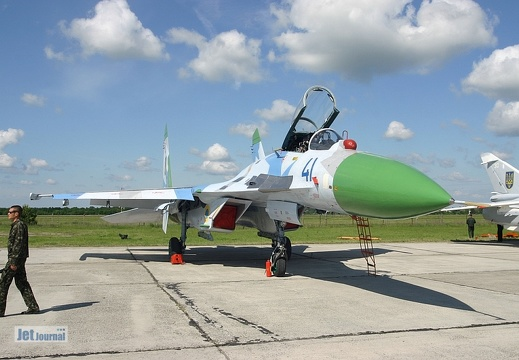 Su-27, 41 blau, Ukrainian Air Force