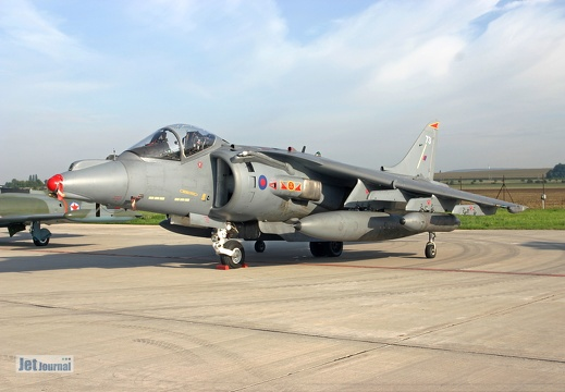 BAe Harrier GR.7, Royal Navy ZG-502/73