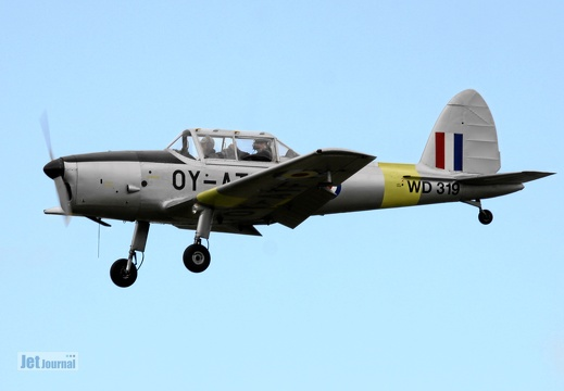 OY-ATF, deHavilland DHC-1 Chipmuk