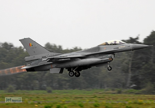 FA-89, F-16AM Belgian Air Force
