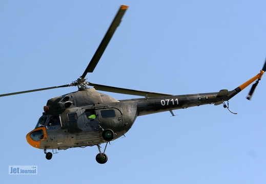 0711, Mil Mi-2 Czech Air Force