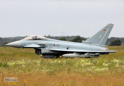 30+89, EF-2000 Eurofighter Typhoon, Deutsche Luftwaffe