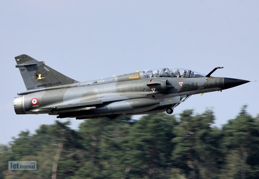 342/125-BA, Mirage 2000, French Air Force