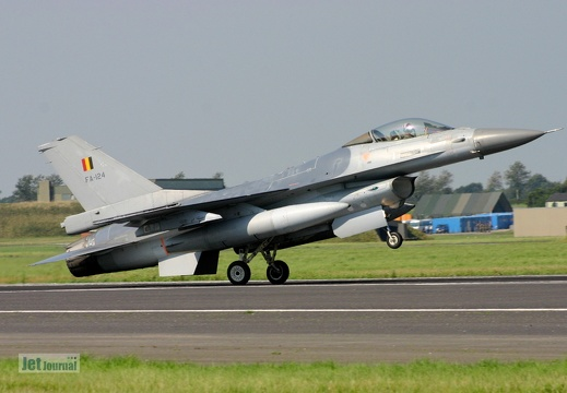 FA-124, F-16AM,  Belgian Air Component
