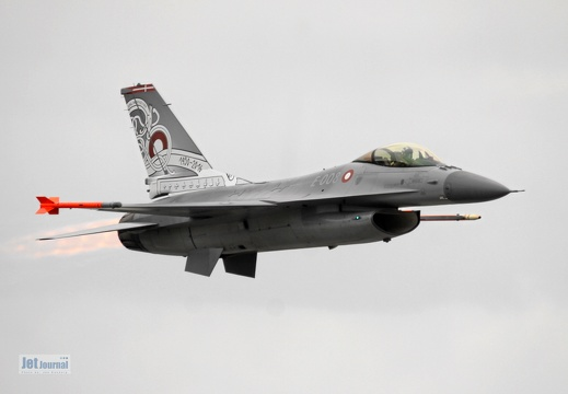 E-008, F-16A, Danish Air Force