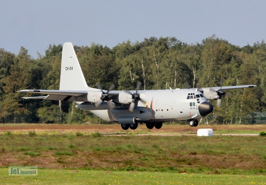 CH-04, C-130H, Belgian Air Component