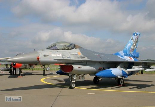 FA-110, F-16A, Belgian Air Force