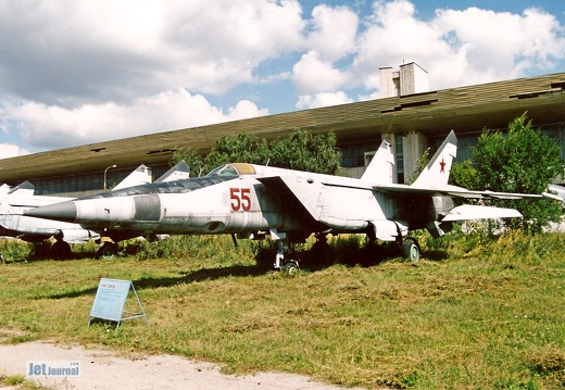 MiG-25RB, 55 rot