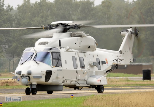 RN-02, NH-902 NFH Eurocopter, Belgian Air Component