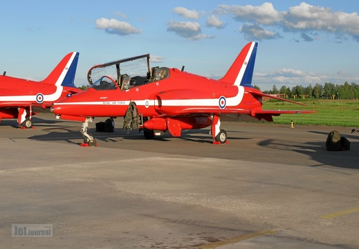 XX308 Hawk T1 Red Arrows