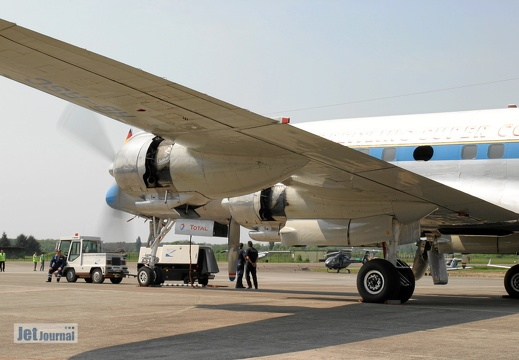 N73544 HB-RSC Lockheed L-1049 Super Constellation Pic8
