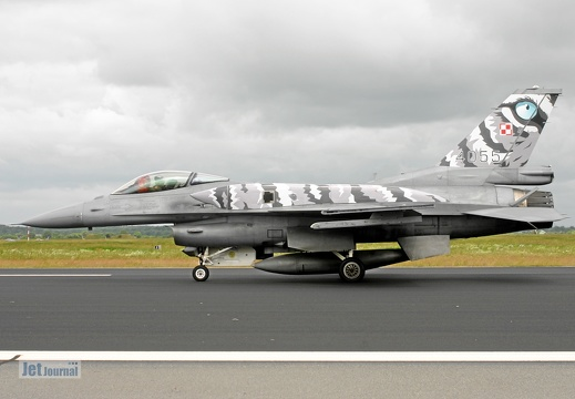 4055, F-16CJ, Polish Air Force