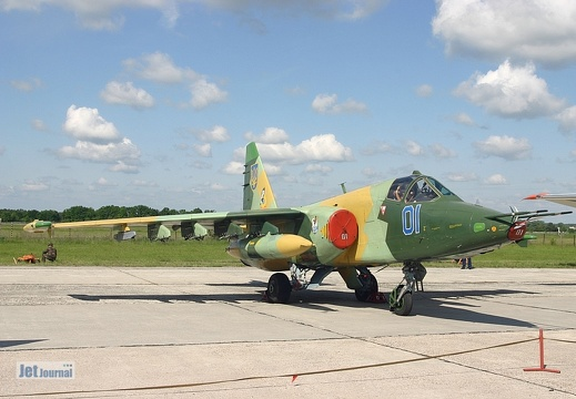 Su-25, 01 blau,  Ukrainian Air Force