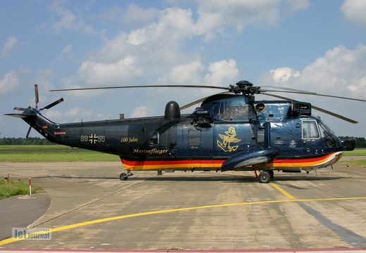89+55, Sea King Mk.41, Deutsche Marine