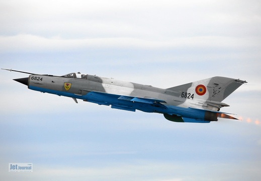 6824, MiG-21 LanceR, Romanian Air Force