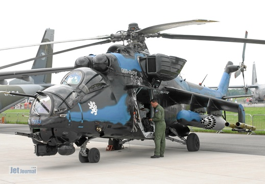 7353, Mi-24W, Czech Air Force