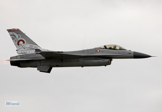 E-598, F-16A, Danish Air Force