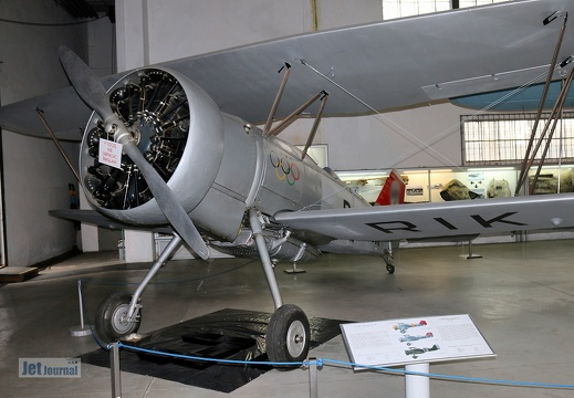 D-IRIK, Curtiss Hawk II