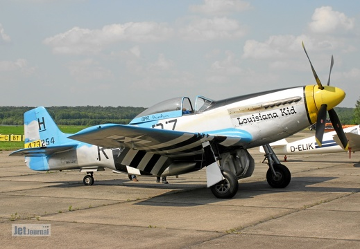 "N6328T, North American P-51D Mustang ""Louisiana Kid"""