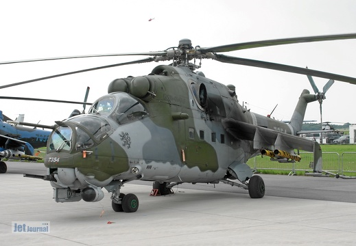7354, Mi-24W, Czech Air Force