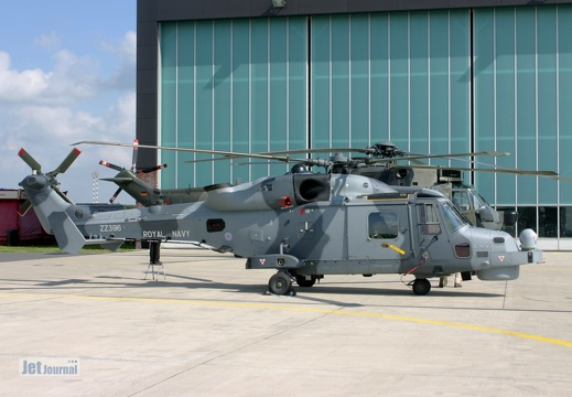 ZZ396, AW159 Wildcat, Royal Navy