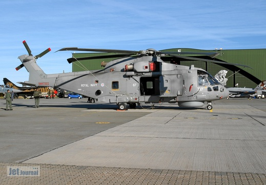 ZH855 267 Merlin HM1 814 NAS Royal Navy Pic1