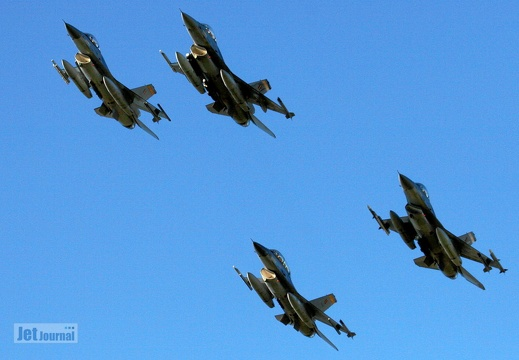 4-ship F-16 Belgian Air Component Pic1