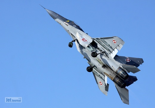 67, MiG-29, Polish Air Force
