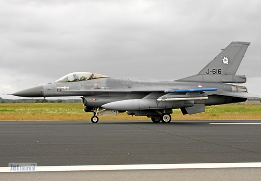 J-616, F-16AM, Royal Netherlands AF