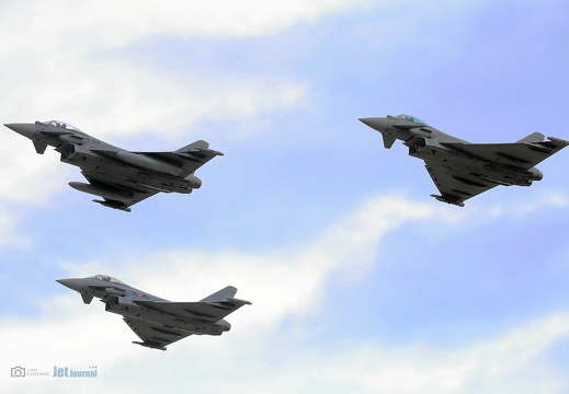 3 Ship Formation Eurofighter