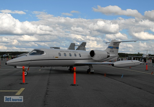 84-0086 C-21A  Learjet 35 76th AS USAFE