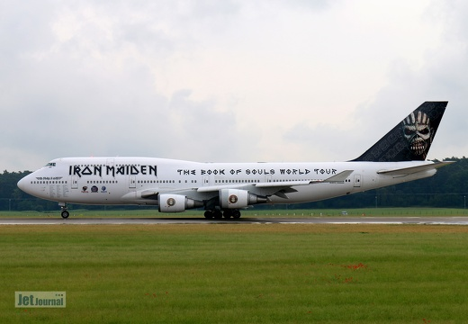 TF-AAK, Boeing 747-400, Ed Force One