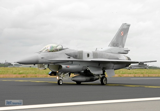 4040, F-16CJ, Polish Air Force
