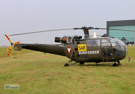3E-KX, Alouette SA.319A, Austrian Air Force