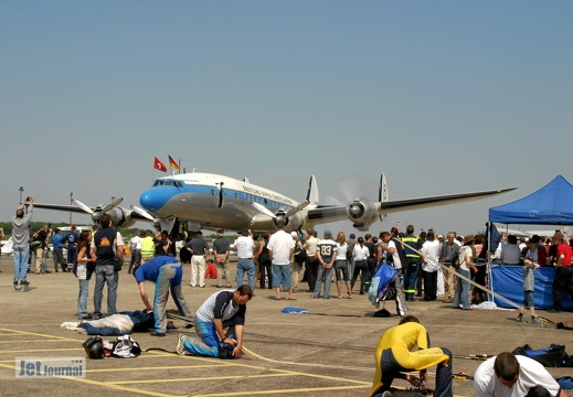 N73544 HB-RSC Lockheed L-1049 Super Constellation Pic5