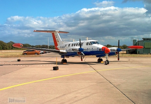 D-CACB Beech 200 Aerodata Flight Inspection