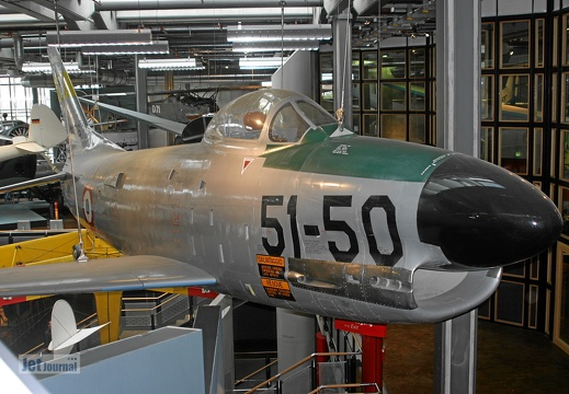 North American F-86K Sabre, 51-50