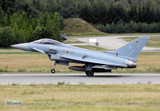 31+20, Eurofighter EF-2000 Typhoon, Deutsche Luftwaffe