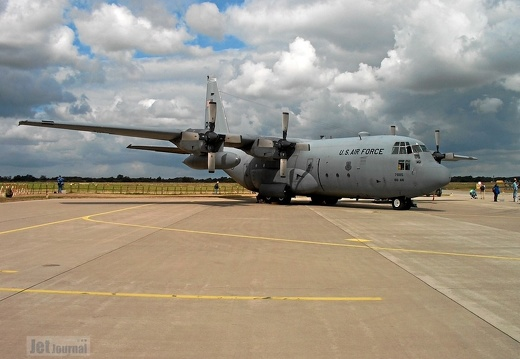 63-7885 RS C-130E 37th AS USAFE