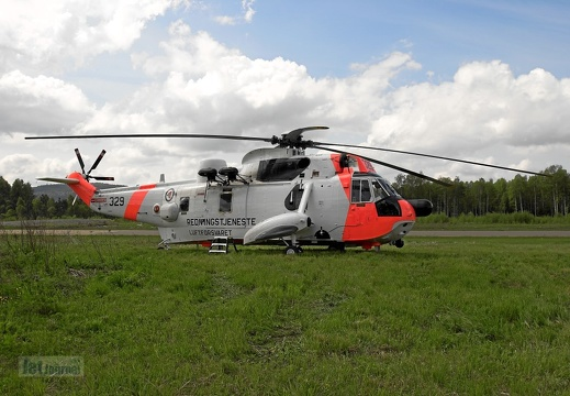 329 Sea King Mk43B Luftforsvaret