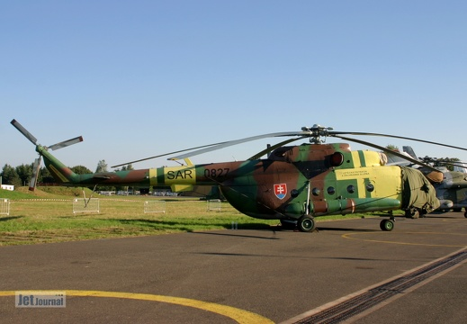 0827, Mil Mi-17, Slovak Air Force