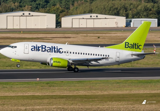 YL-BBE Air Baltic Boeing 737-53S Berlin Tegel (EDDT/TXL)
