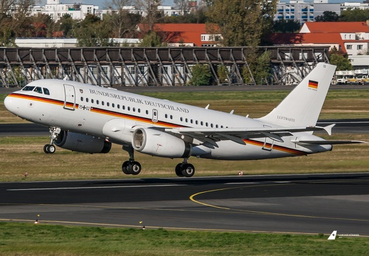 15+02 German Air Force Airbus A319-133(CJ) Berlin - Tegel (EDDT/TXL)