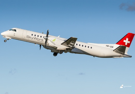 HB-IZB SkyWork Airlines Saab 2000 Berlin Tegel (EDDT/TXL)