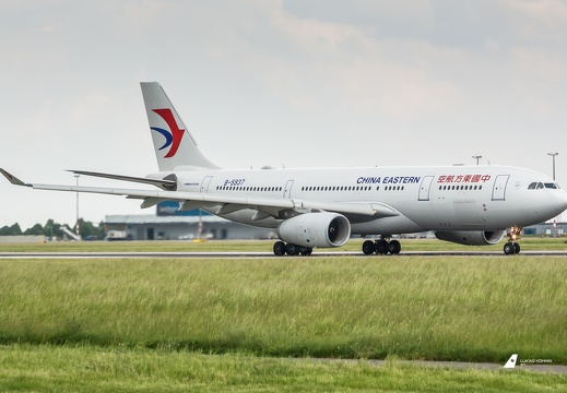 China Eastern Airlines Airbus A330-200 B-5937 Prag (LKPR/PRG)