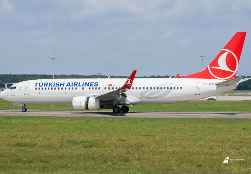 TC-JVE Turkish Airlines Boeing 737-8F2(WL) Hannover (EDDV/HAJ)