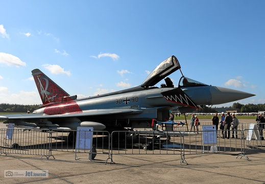 30+90, Eurofighter Typhoon, Deutsche Luftwaffe