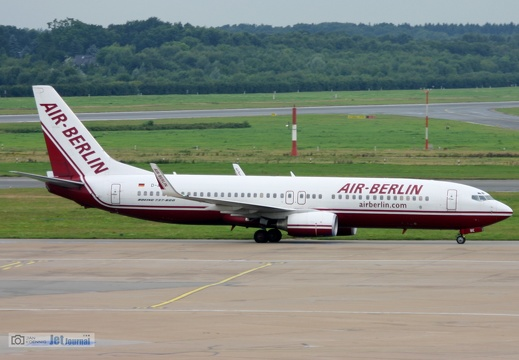 D-ABBE, B737-800, Air Berlin, EDDH/HAM