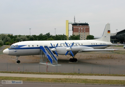 DM-STA, Il-18W, Interflug